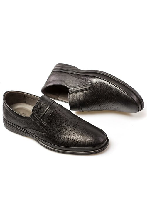 maximoda Seta Hakiki Deri Erkek Günlük Delikli Yazlık Ayakkabı 2