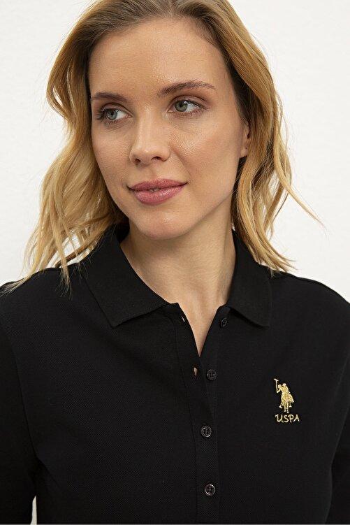 U.S. Polo Assn. Sıyah Kadın Sweatshirt G082Sz082.000.1194908 2