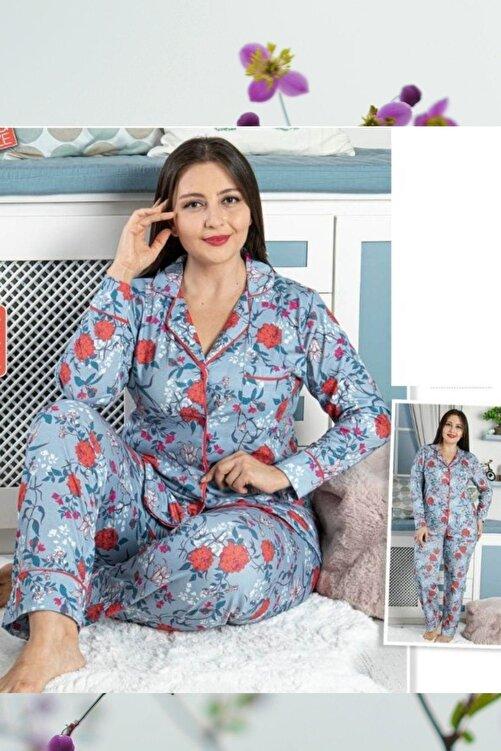 MASSİMO BAZAAR Kadın  Large Sıze Pajamas Set 1
