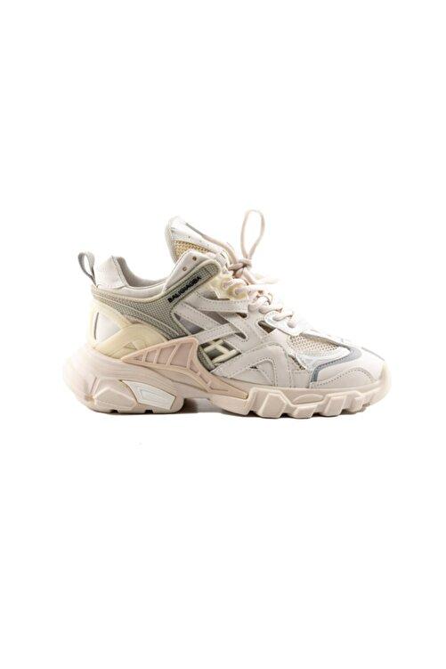 Guja Kadın Bej Bağcıklı Sneaker -311 1