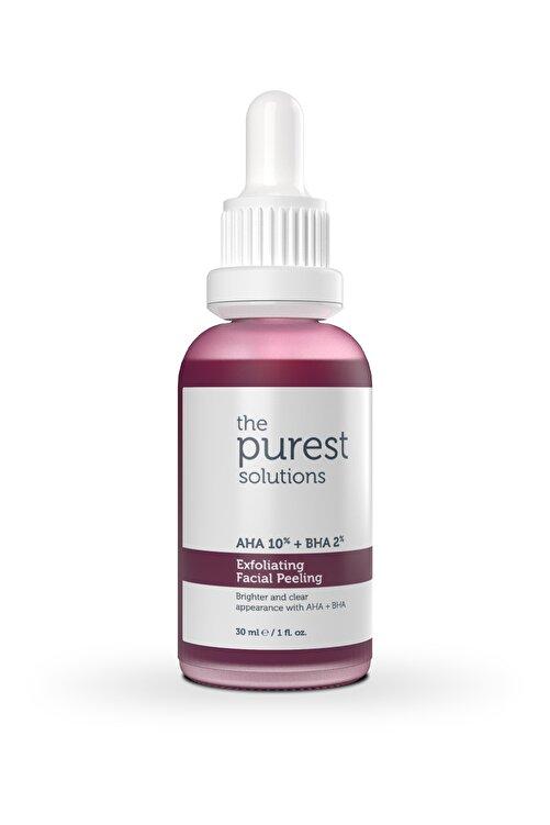 The Purest Solutions Canlandırıcı & Cilt Tonu Eşitleyici Yüz Peeling Serum 30 Ml (aha 10% + Bha 2%) 2