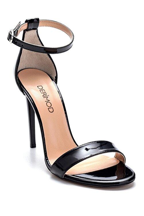 Derimod Kadın Rugan Yüksek Topuklu Ayakkabı 2