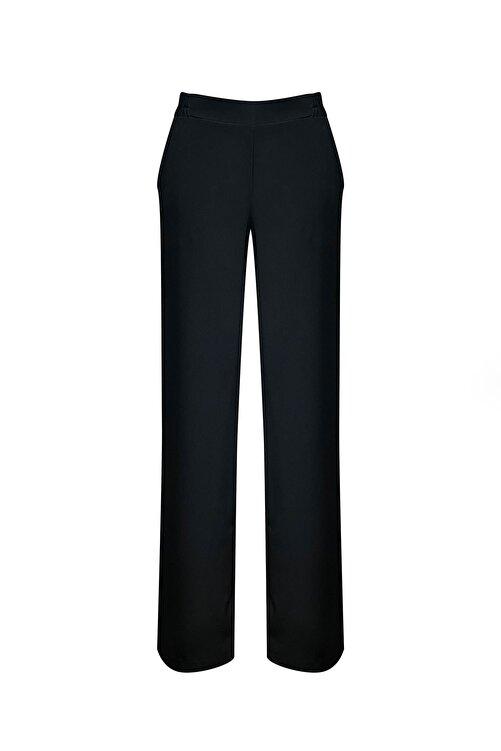 RİVUS Önü Korsajlı Arkası Lastikli Bol Paça Pantolon Yeni Ürün 7496 1