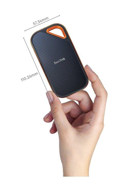 SanDisk Extreme Pro 500GB 1050MB-1050MB/s USB 3.2 Taşınabilir SSDSDSSDE80-500G-G25 2