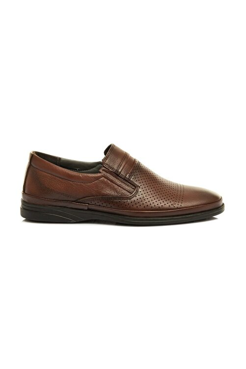 maximoda Hakiki Deri, Erkek Günlük Delikli Yazlık Ayakkabı 1