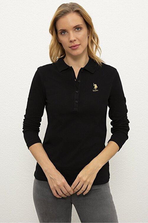 U.S. Polo Assn. Sıyah Kadın Sweatshirt G082Sz082.000.1194908 1