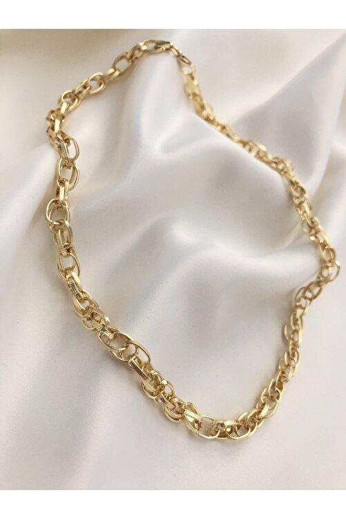 The Y Jewelry Kadın Gold Zincir Kolye 1