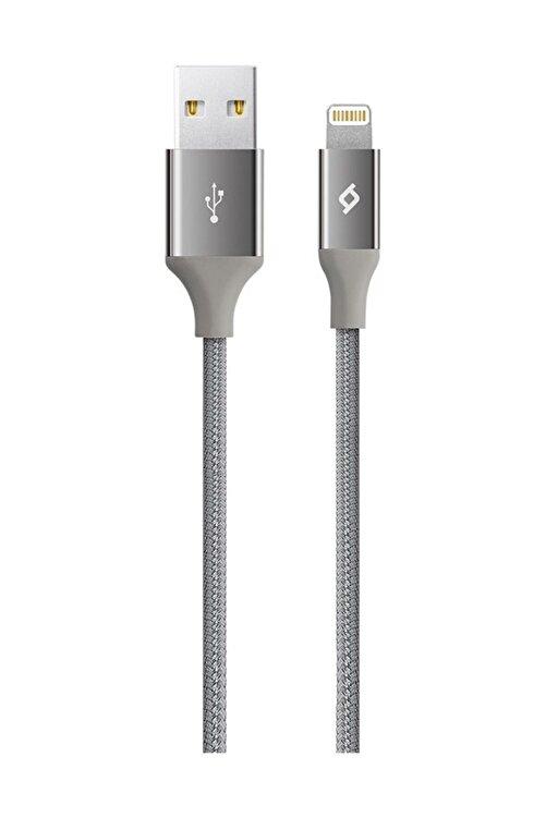 Ttec Uzay Gri Alumicable Iphone Lightning Uyumlu Şarj ve Data Kablosu 2dk16 1