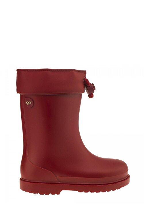 IGOR W10100 Chufo Cuello-005 Kırmızı Unisex Çocuk Yağmur Çizmesi 100386301 2
