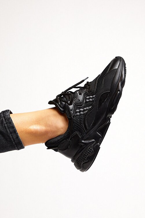 Tonny Black Siyah Unisex Sneaker TB248-0 1