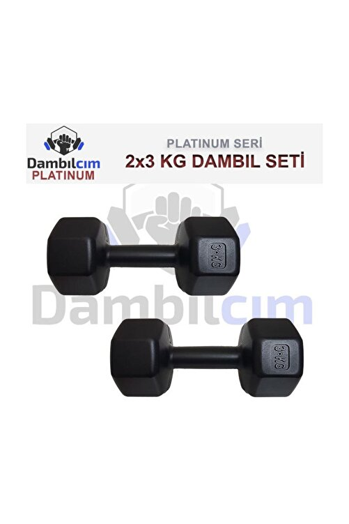 Dambılcım 3 KG x 2 Adet 6 KG Dambıl Seti 6 KG Dumbell Set 2