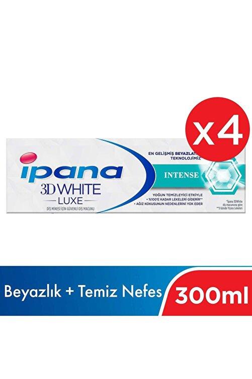 İpana Ipana 3 Boyutlu Beyazlık Luxe Diş Macunu Intense 4*75 Ml 1