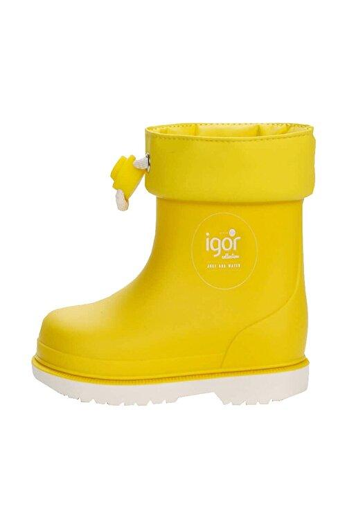 IGOR BIMBI NAUTICO Sarı Kız Çocuk Bot 100518807 2