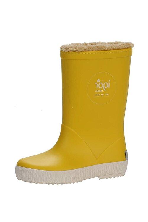 IGOR SPLASH NAUTICO BORREGUITO Sarı Kız Çocuk Yağmur Çizmesi 100518770 1