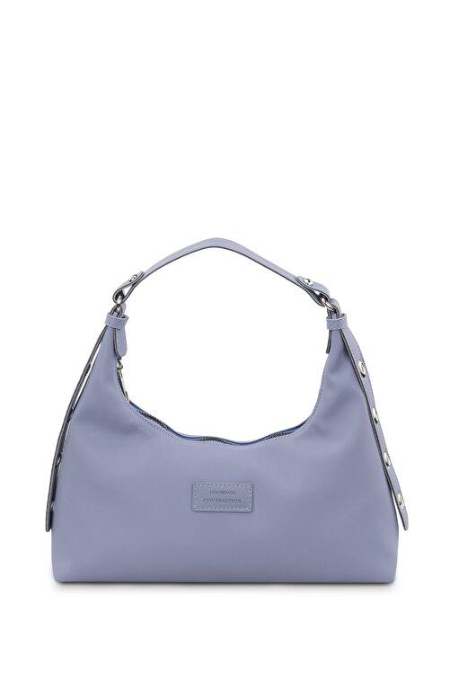 Housebags Kadın Mavi Baguette Çanta 205 1