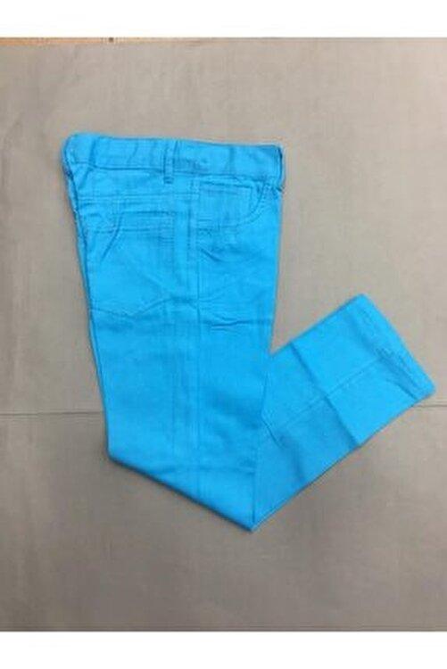 Gökkuşağı Erkek Çocuk Düz Renk  Keten Pantolon 1