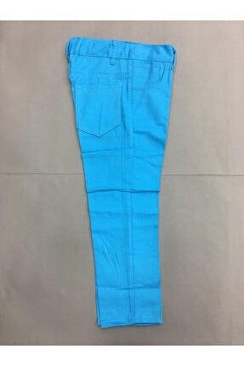 Gökkuşağı Erkek Çocuk Düz Renk  Keten Pantolon 2