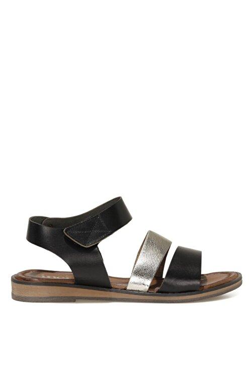 İnci LEON.Z 1FX Siyah Kadın Sandalet 101038317 1