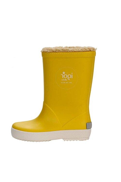 IGOR SPLASH NAUTICO BORREGUITO Sarı Kız Çocuk Yağmur Çizmesi 100518770 2