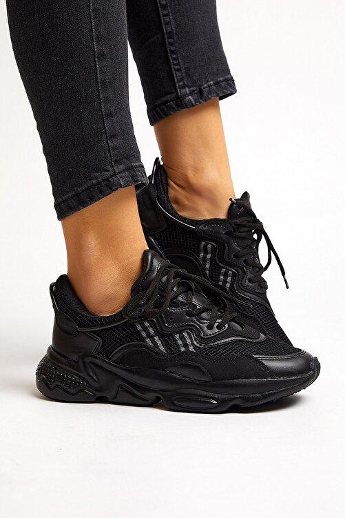 Tonny Black Siyah Unisex Sneaker TB248-0 2
