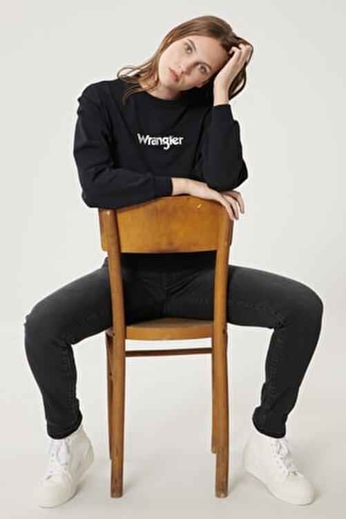 WRANGLER Kadın Antrasit Skinny Fit Denim Esnek Jean Kot Pantolon 1