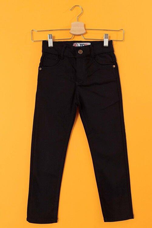 Armina Shop Çocuk Lacivert Gabardin Cepli Power Likralı Pantolon 001102713-2298 1