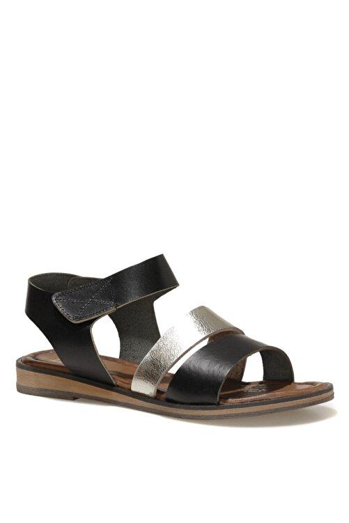 İnci LEON.Z 1FX Siyah Kadın Sandalet 101038317 2