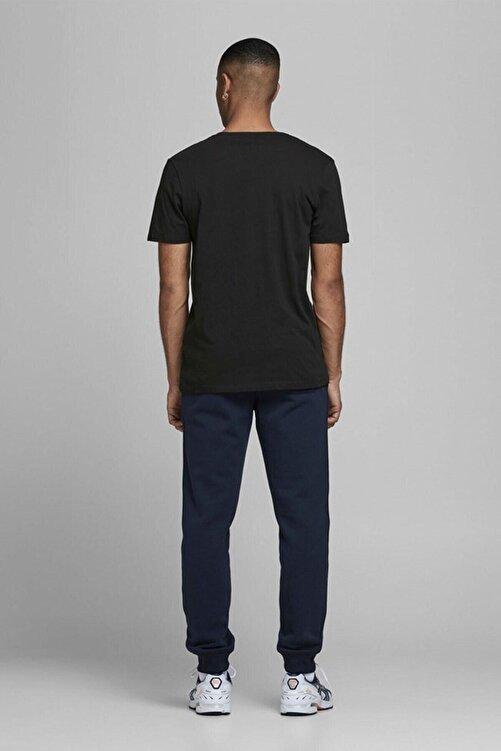 Jack & Jones JJECORP LOGO TEE SS O-NEC Siyah Erkek T-Shirt 101069463 2