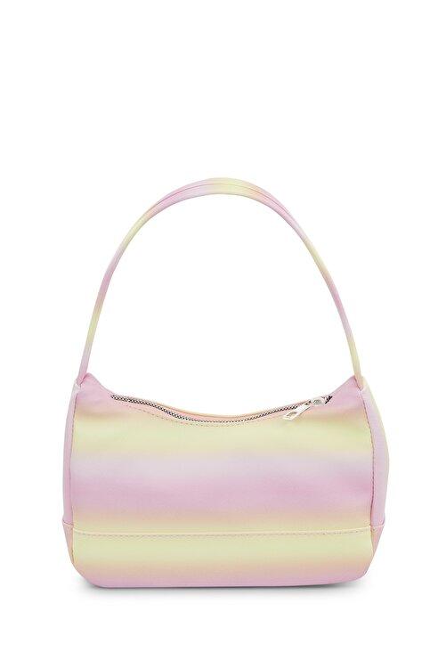 Housebags Kadın Sarı Renkli Baguette Çanta 197 2