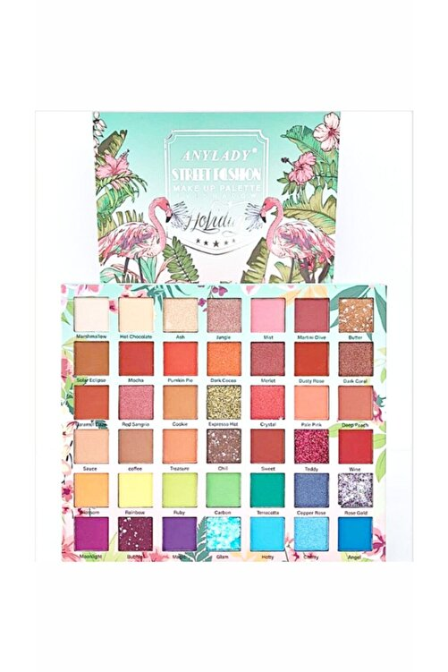Tikatti Flamingo Holiday 42 Renkli Göz Farı Paleti 213515435T 1