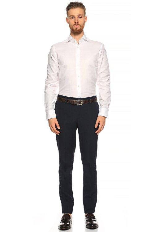 Hackett Erkek Beyaz Düz Gömlek 2