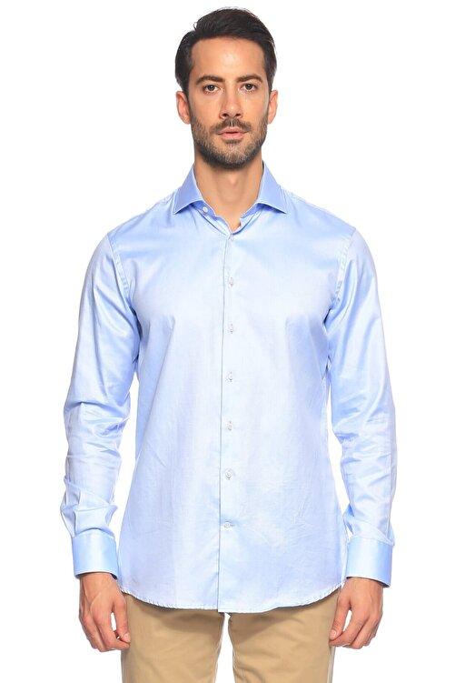 Hackett Erkek Mavi Düğmeli Gömlek 1