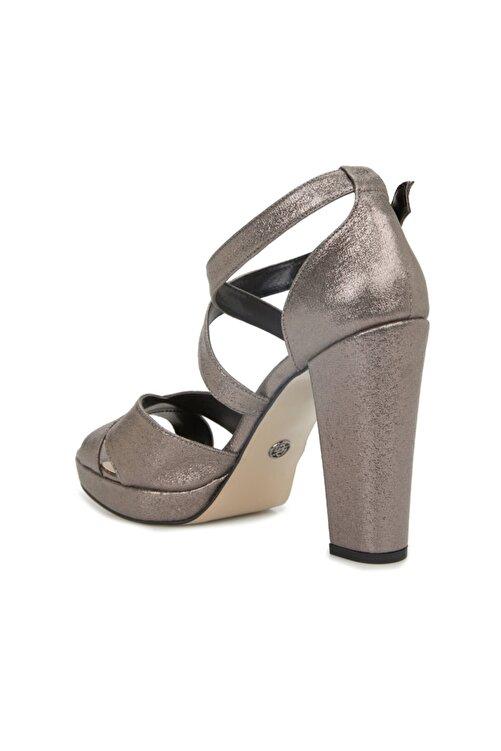 Dıvarese Kadın Platin Silver Topuklu Sandalet 2