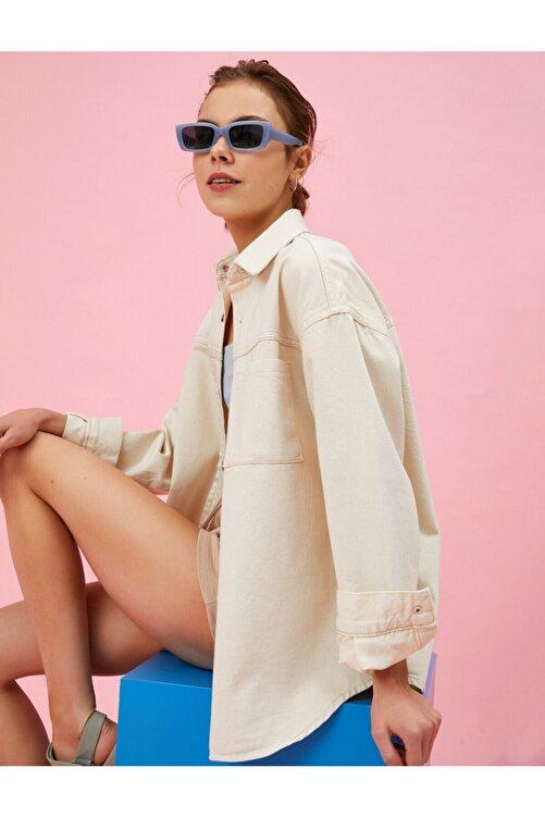 Koton Kadın Kot Ceket 1