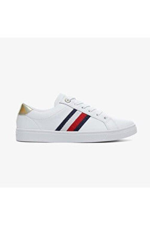Tommy Hilfiger Kadın Beyaz Spor Ayakkabı 1