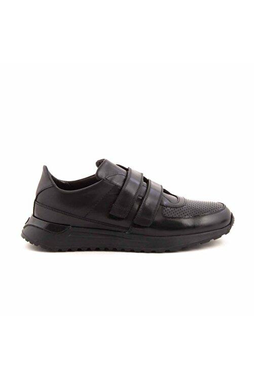 MOCASSINI Deri Cirt Bantli Erkek Spor Sneaker D3850 1