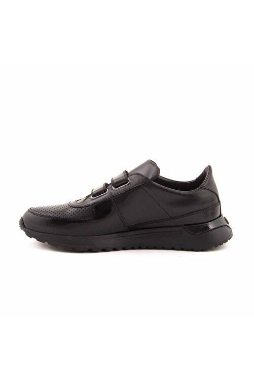 MOCASSINI Deri Cirt Bantli Erkek Spor Sneaker D3850 2