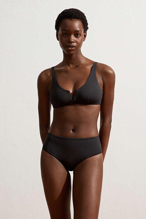 Oysho Kadın Siyah Halter Bikini Üstü 2