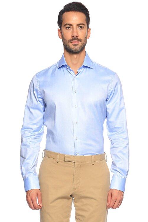 Hackett Erkek Mavi Düğmeli Gömlek 2