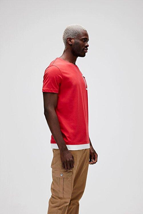 Bad Bear Erkek Parlak Kırmızı Tişört 2