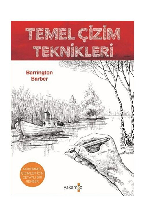 Yakamoz Yayınları Temel Çizim Teknikleri - Barrington Barber 1