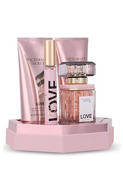 Victoria's Secret Love Edp 50 ml Kadın Parfüm Seti 667546389015 1