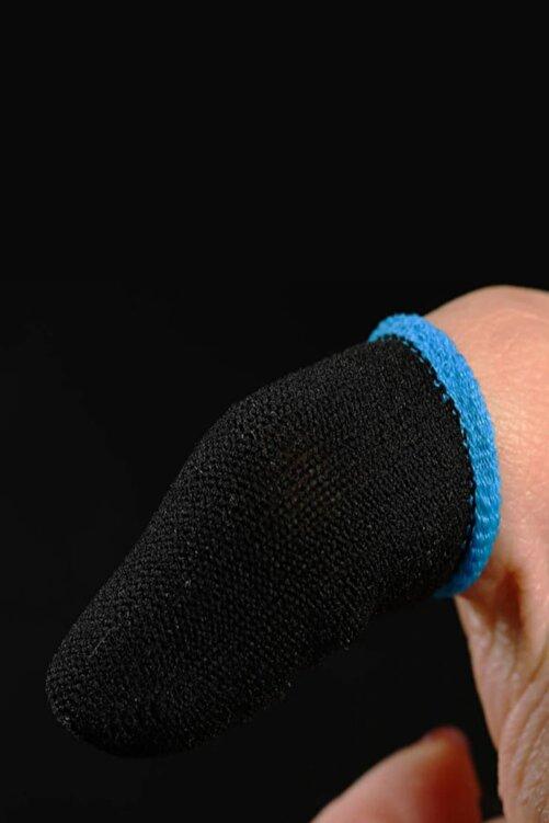 Mimozaavm Saez Yeni Nesil Mobile Oyun Pubg Parmak Eldiveni Hissiz Terlemeyi Önleyen Yapı 1 Çift Siyah,mavi 2