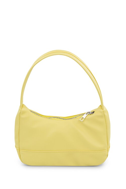 Housebags Kadın Sarı Baguette Çanta 197 2