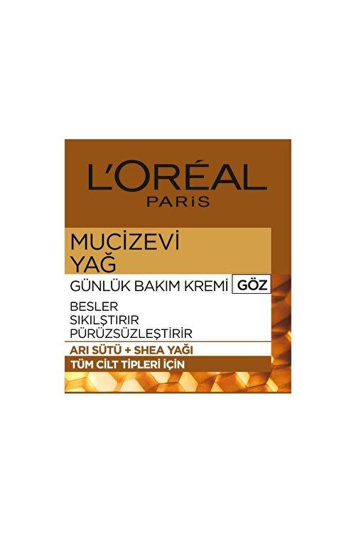 L'Oreal Paris Mucizevi Yağ Günlük Bakım Kremi Göz 2