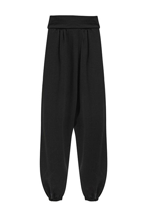 Quzu Kadın Yüksek Bel Şalvar Pantolon 2