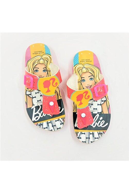 Barbie Pembe Kız Çocuk Havuz Ve Plaj Terliği 1