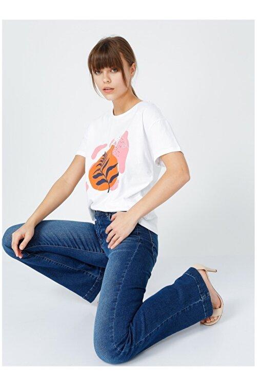 Fabrika Kadın Beyaz T-shirt 1