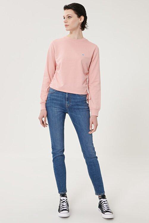 Lee Kadın Mavi Scarlett High Skinny Fit Denim Esnek Jean Kot Pantolon 2