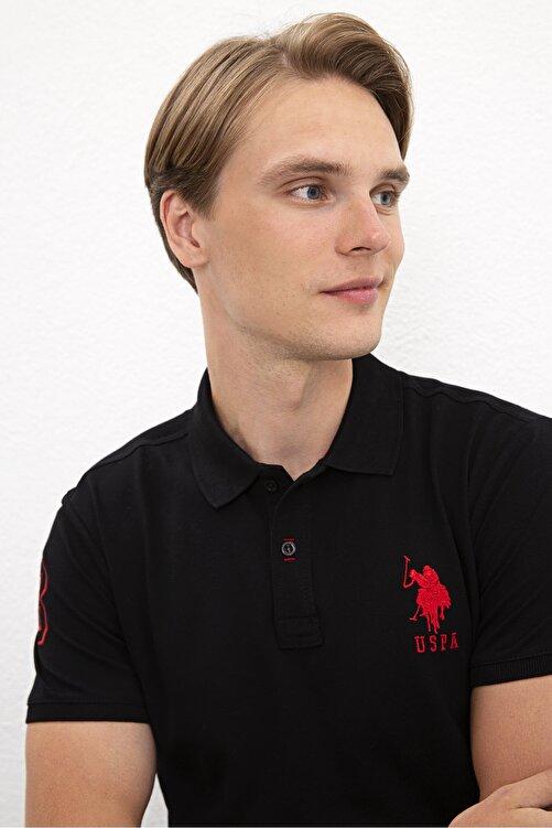 U.S. Polo Assn. Sıyah Erkek T-Shirt 2